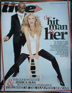 Live magazine - Heidi Klum and Seal cover (28 October 2007)