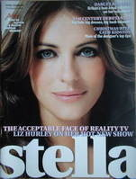 Stella magazine - Elizabeth Hurley cover (18 December 2005)