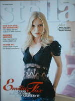 <!--2006-07-02-->Stella magazine - Emilia Fox cover (2 July 2006)