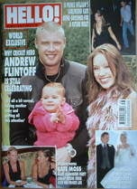 <!--2005-09-29-->Hello! magazine - Andrew Flintoff cover (29 September 2005