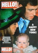 <!--1989-01-07-->Hello! magazine - Princess Beatrice Elizabeth Mary christe