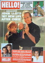 <!--1989-03-04-->Hello! magazine - John Lloyd cover (4 March 1989 - Issue 4