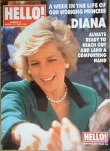<!--1989-03-18-->Hello! magazine - Princess Diana cover (18 March 1989 - Is
