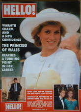 <!--1989-05-27-->Hello! magazine - Princess Diana cover (27 May 1989 - Issu