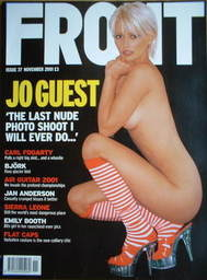 <!--2001-11-->Front magazine - Jo Guest cover (November 2001)