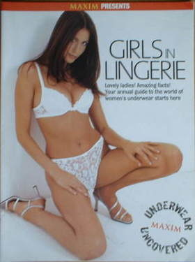 MAXIM supplement - Girls In Lingerie (Lisa Snowdon cover)