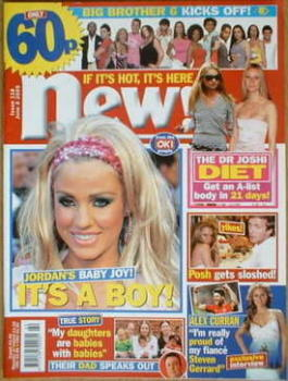New magazine - 6 June 2005 - Katie Price cover