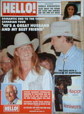 <!--1989-08-05-->Hello! magazine - The Duke and Duchess of York cover (5 Au