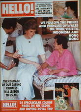 <!--1989-11-18-->Hello! magazine - Princess Diana cover (18 November 1989 -