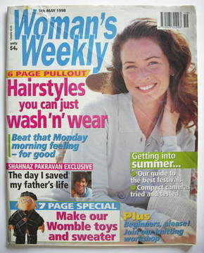 <!--1998-05-05-->Woman's Weekly magazine (5 May 1998)