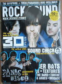 <!--2008-05-->Rock Sound magazine - 30 Seconds To Mars cover (May 2008)