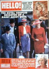 <!--1990-06-30-->Hello! magazine - Princess Diana, Prince Charles, Prince A