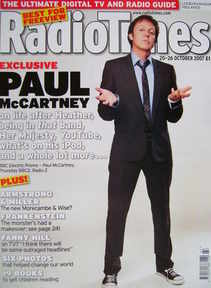 <!--2007-10-20-->Radio Times magazine - Paul McCartney cover (20-26 October