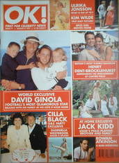 <!--1997-08-08-->OK! magazine - David Ginola cover (8 August 1997 - Issue 7