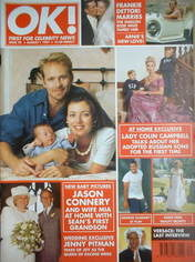 <!--1997-08-01-->OK! magazine - Jason Connery cover (1 August 1997 - Issue