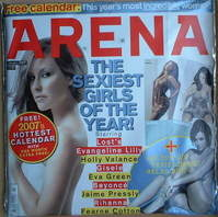 <!--2007-01-->Arena magazine and calendar (January 2007)
