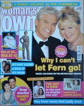 <!--2006-05-22-->Woman's Own magazine - 22 May 2006 - Fern Britton and Phil
