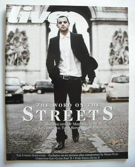 Live magazine - Mike Skinner cover (7 December 2008)
