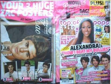 <!--2009-01-28-->Top Of The Pops magazine - Alexandra Burke cover (28 Janua