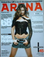 <!--2004-03-->Arena magazine - March 2004 - Katie Holmes cover