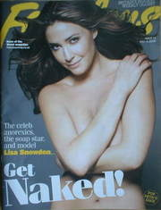 Fabulous magazine - Lisa Snowdon cover (4 May 2008)