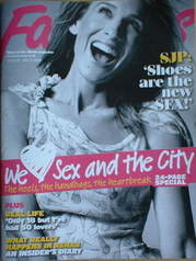 <!--2008-05-11-->Fabulous magazine - Sarah Jessica Parker cover (11 May 200