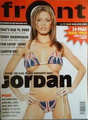<!--1999-07-->Front magazine - Katie Price cover (July 1999)
