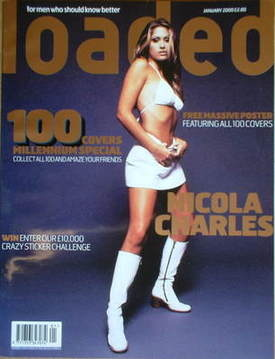 <!--2000-01-->Loaded magazine - Nicola Charles cover (January 2000)
