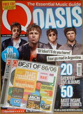 <!--2006-06-->Q magazine - Oasis cover (June 2006)