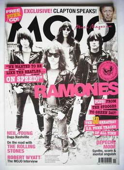 <!--2005-11-->MOJO magazine - The Ramones cover (November 2005 - Issue 144)