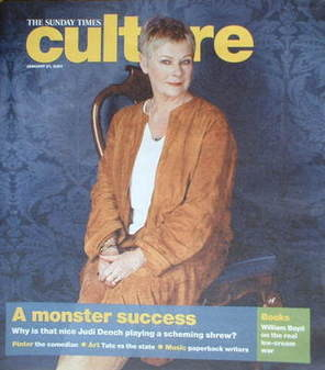 Culture magazine - Judi Dench cover (21 January 2007)