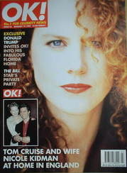 <!--1997-01-19-->OK! magazine - Nicole Kidman cover (19 January 1997 - Issu