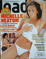 <!--2004-10-->Loaded magazine - Michelle Heaton cover (October 2004)