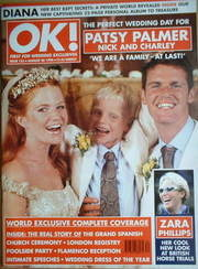 <!--1998-08-28-->OK! magazine - Patsy Palmer wedding cover (28 August 1998
