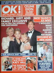 <!--1998-10-16-->OK! magazine - Richard Madeley and Judy Finnigan and famil