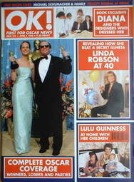 <!--1998-04-03-->OK! magazine - The Oscars coverage cover (3 April 1998 - I