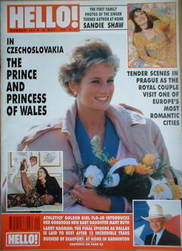 <!--1991-05-18-->Hello! magazine - Princess Diana cover (18 May 1991 - Issu
