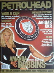 Petrolhead magazine - Amanda Robbins cover (June 1998)