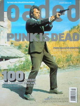 <!--2000-01-->Loaded magazine - Clint Eastwood cover (January 2000)