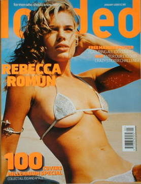 <!--2000-01-->Loaded magazine - Rebecca Romijn cover (January 2000)