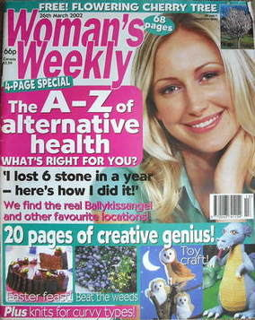 <!--2002-03-26-->Woman's Weekly magazine (26 March 2002)