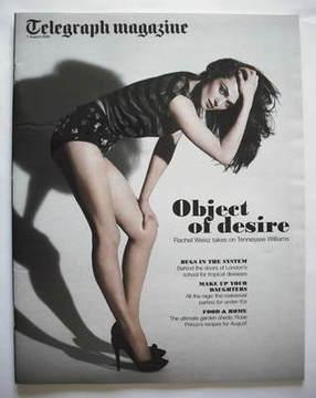 <!--2009-08-01-->Telegraph magazine - Rachel Weisz cover (1 August 2009)