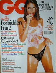 <!--1999-12-->British GQ magazine - December 1999 - Brenda Schad cover