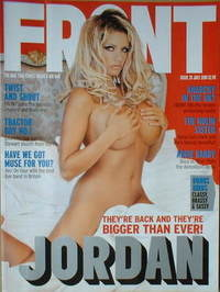 Front magazine - Katie Price cover (July 2001)