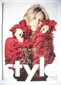 Style magazine - Kate Moss cover (20 July 2003)