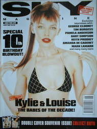 <!--1997-06-->Sky magazine - Kylie Minogue cover (June 1997)