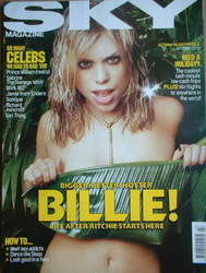 <!--2000-07-->Sky magazine - Billie Piper cover (July 2000)