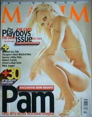 MAXIM magazine - Pamela Anderson cover (February 2002)