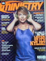 Ministry magazine - Kylie Minogue cover (April 1998)