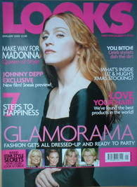 <!--2000-01-->Looks magazine - January 2000 - Madonna cover